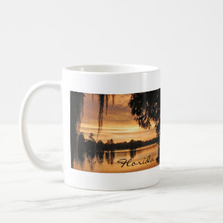 Hillsborough River Sunset Florida Mug