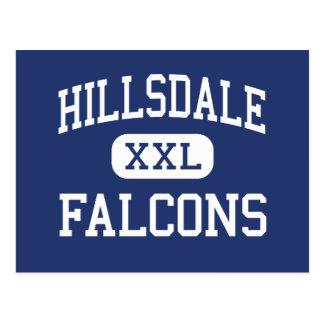 Hillsdale - Falcons - alto - Jeromesville Ohio Postal