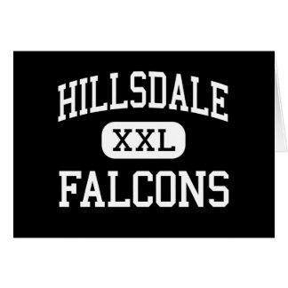 Hillsdale - Falcons - Middle - Jeromesville Ohio Card
