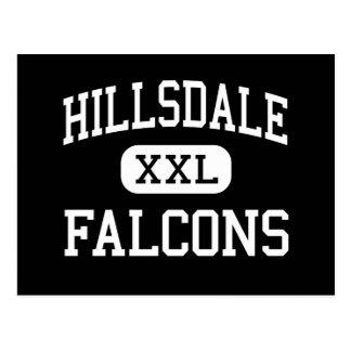 Hillsdale - Falcons - Middle - Jeromesville Ohio Postcard