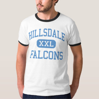 Hillsdale - Falcons - Middle - Jeromesville Ohio T-Shirt