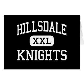 Hillsdale - Knights - High - San Mateo California Card