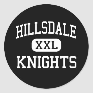 Hillsdale - Knights - High - San Mateo California Classic Round Sticker