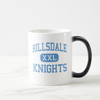 Hillsdale - Knights - High - San Mateo California Magic Mug