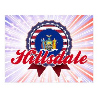 Hillsdale, NY Tarjeta Postal