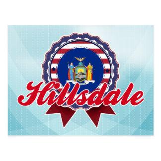Hillsdale, NY Postales