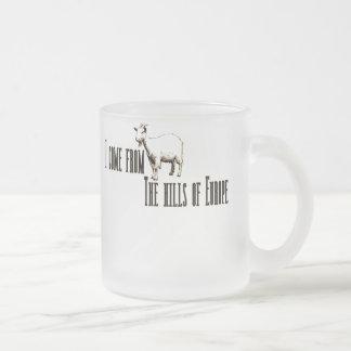 HillsEurope2 Frosted Glass Coffee Mug