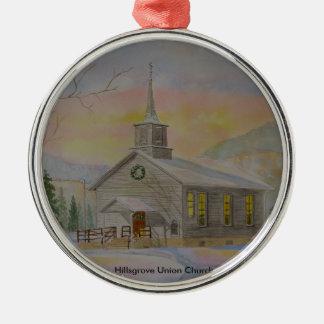 Hillsgrove Union Church Metal Ornament