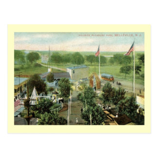 Hillside Amusement Park, Belleville, NJ Vintage Postcard