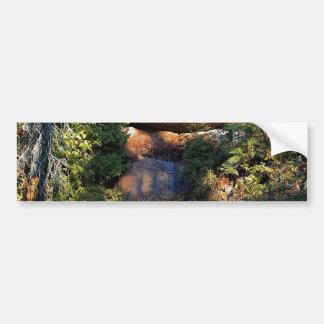 Hillside Bridge Bumper Sticker
