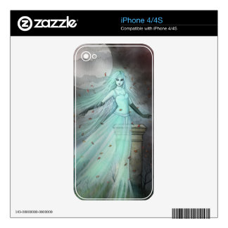 Hillside Ghost Gothic Fantasy Paranormal Art iPhone 4S Decals