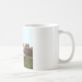 Hillside houses coffee mug