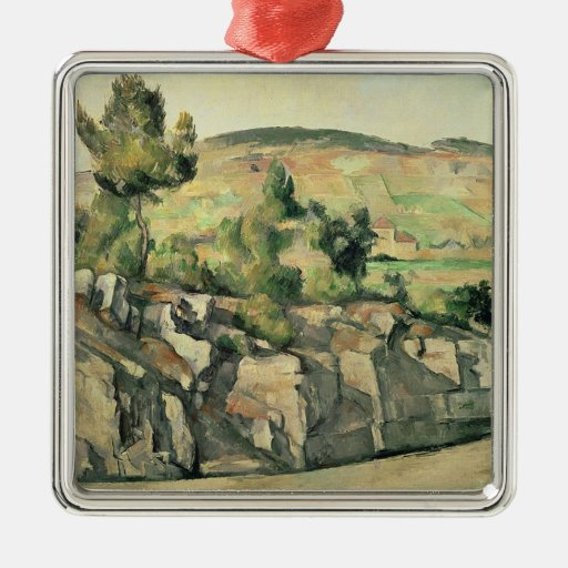 Hillside in Provence, c.1886-90 Ornaments
