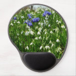Hillside of Early Spring Flowers I Gel Mouse Pad