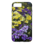 Hillside of Purple and Yellow Pansies iPhone 8 Plus/7 Plus Case
