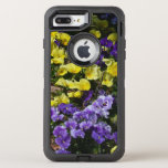 Hillside of Purple and Yellow Pansies OtterBox Defender iPhone 7 Plus Case