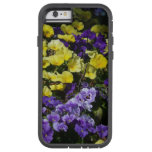 Hillside of Purple and Yellow Pansies Tough Xtreme iPhone 6 Case