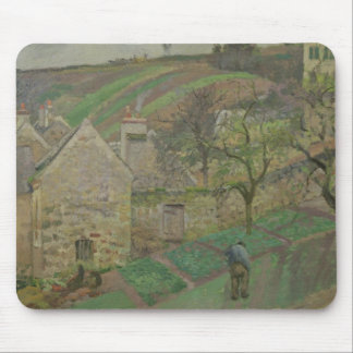 Hillside of the Hermitage, Pontoise, 1873 Mouse Pad