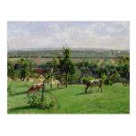 Hillside of Vesinet, Yvelines, 1871 Postcard