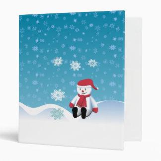 Hillside Snowman Binders