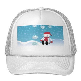 Hillside Snowman Hats