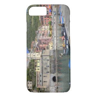 Hillside town of Vernazza, Cinque Terre, Liguria iPhone 7 Case