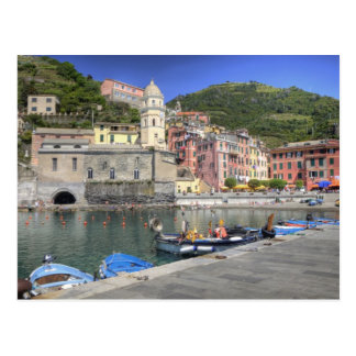Hillside town of Vernazza, Cinque Terre, Liguria Postcards