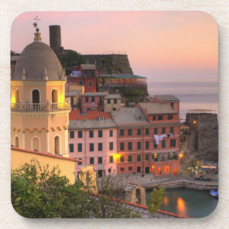 Hillside town of Vernazza in the evening, Cinque Coaster