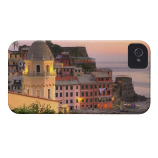 Hillside town of Vernazza in the evening, Cinque iPhone 4 Cover