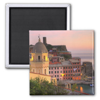 Hillside town of Vernazza in the evening, Cinque Magnet