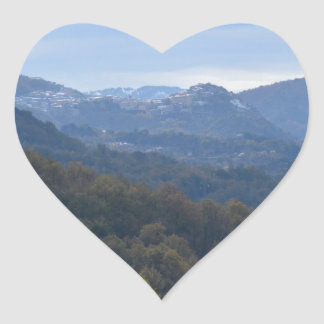Hilltop Community Heart Sticker