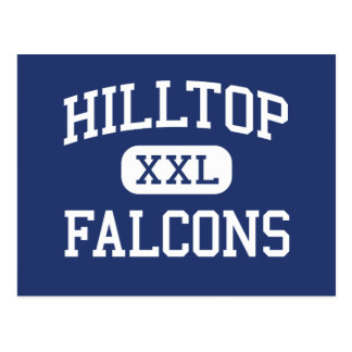Hilltop Falcons Middle Chula Vista Postcard