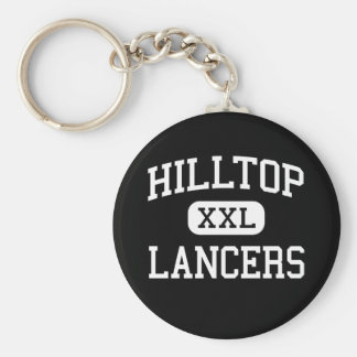 Hilltop - Lancers - High - Chula Vista California Basic Round Button Keychain