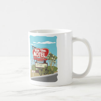 Hilltop Motel on Route 66 Coffee Mug