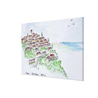 Hilltop village of Cabris | Provence, France Canvas Print