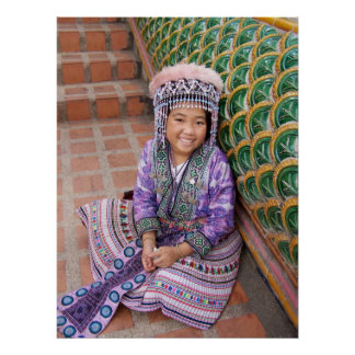 Hilltribe Girl Posters