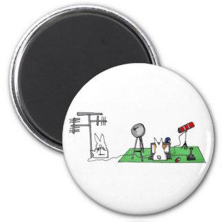 hilly geek 2 inch round magnet
