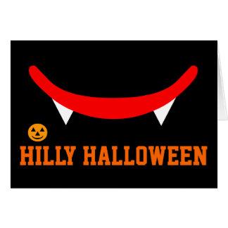 HILLY HALLOWEEN CARD