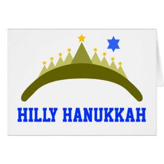 HILLY HANUKKAH CARD