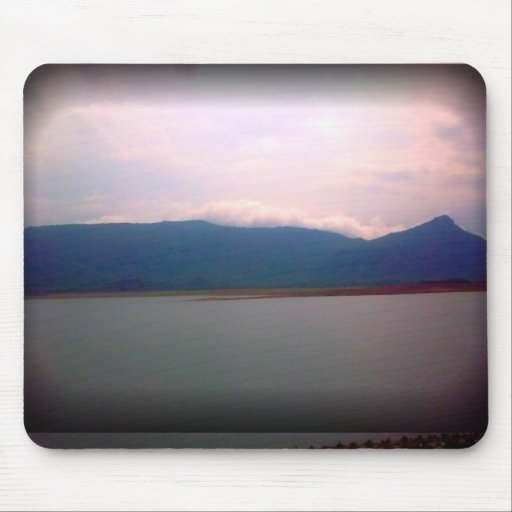 Hilly Mountain Mouse Pad