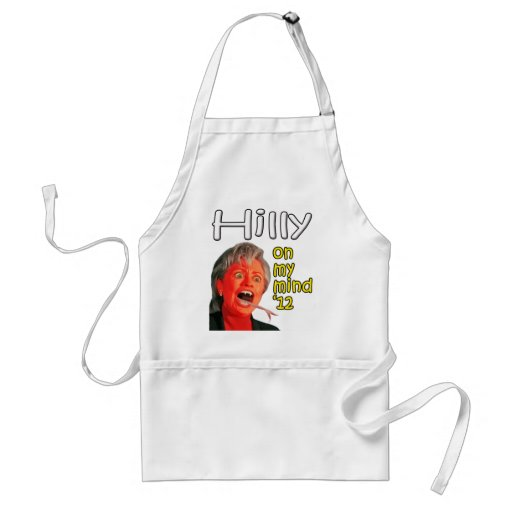Hilly on my mind adult apron