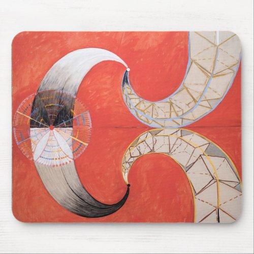 Hilma af Klint The Swan 1501 Mouse Pad