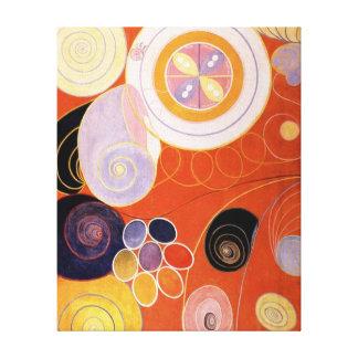 Hilma af Klint - They Tens Mainstay IV Canvas Print