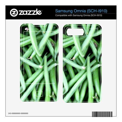 Hilo Calcomanía Para Samsung Omnia