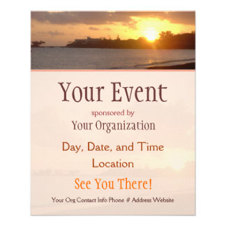 Hilo Dawn Event Flyers