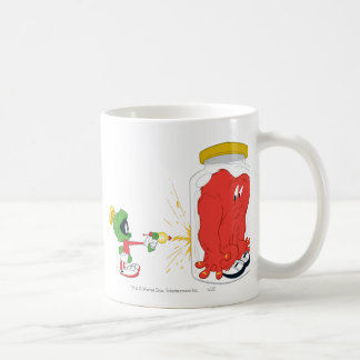 Hilo de araña en un tarro - color taza de café