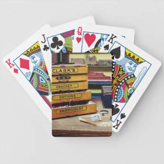 Hilo del bordado para la venta baraja de cartas bicycle