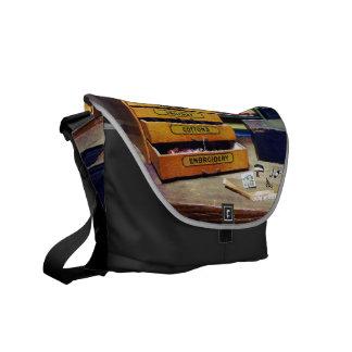 Hilo del bordado para la venta bolsas messenger