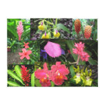 Hilo Hawaii Flowers Canvas Prints