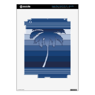 Hilo Hawaiian Palm iPad or Tablet Skin iPad 3 Decal